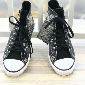 97d65eb9d67a33 Converse Shoes - NWT Converse CT Side Zip HI Black Mouse W AUTHENTI